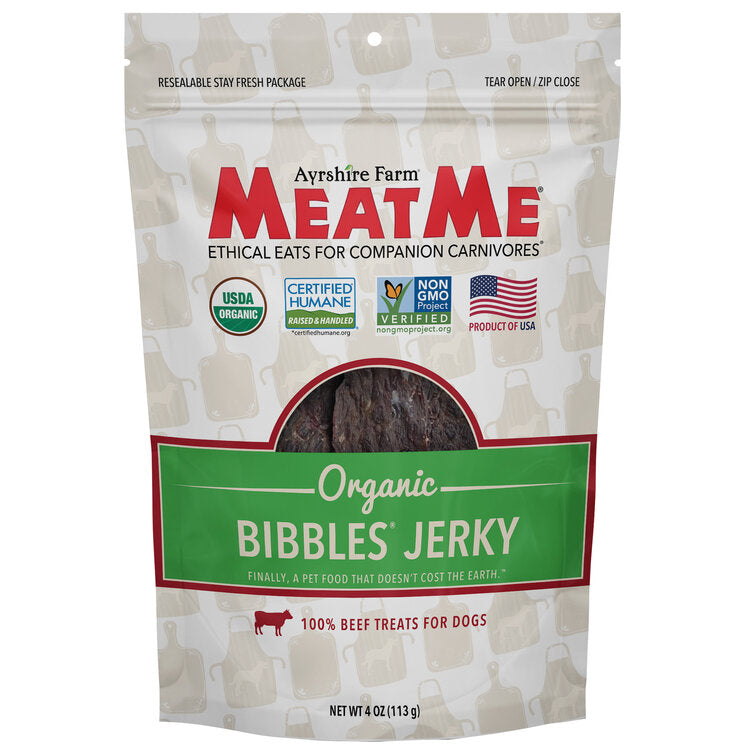 Organic Bibbles® Beef Jerky for Dogs