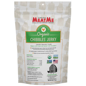 Load image into Gallery viewer, Organic Chibbles® Chicken Jerky for Dogs