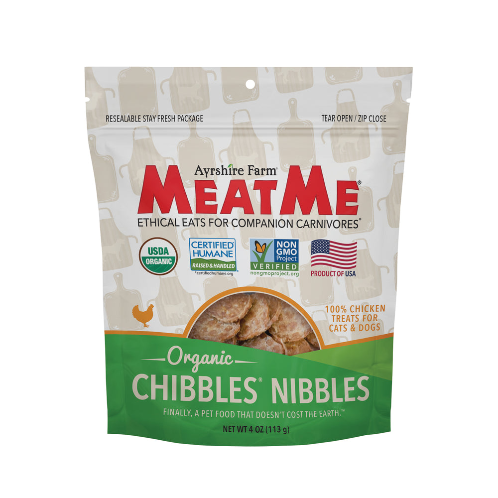 Organic Chibbles® Nibbles for Dogs & Cats