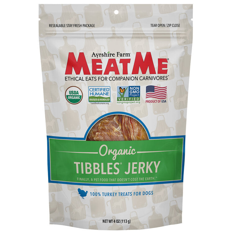 Load image into Gallery viewer, Organic Tibbles® Turkey Jerky for Dogs