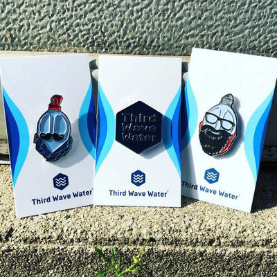 Hipster Water Trifecta Pin Pack