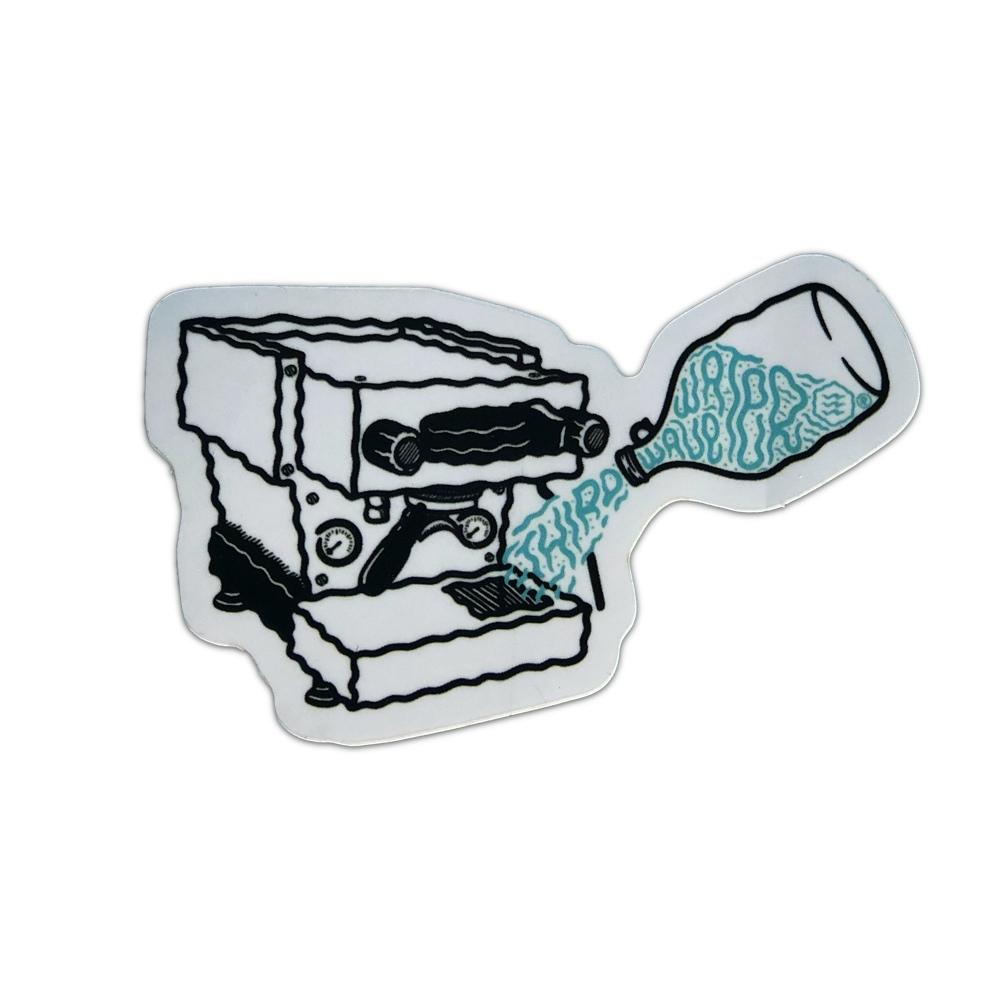 Espresso Machine Sticker