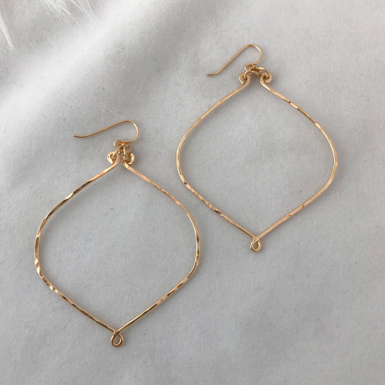 Large Sandrina Hoop earrings