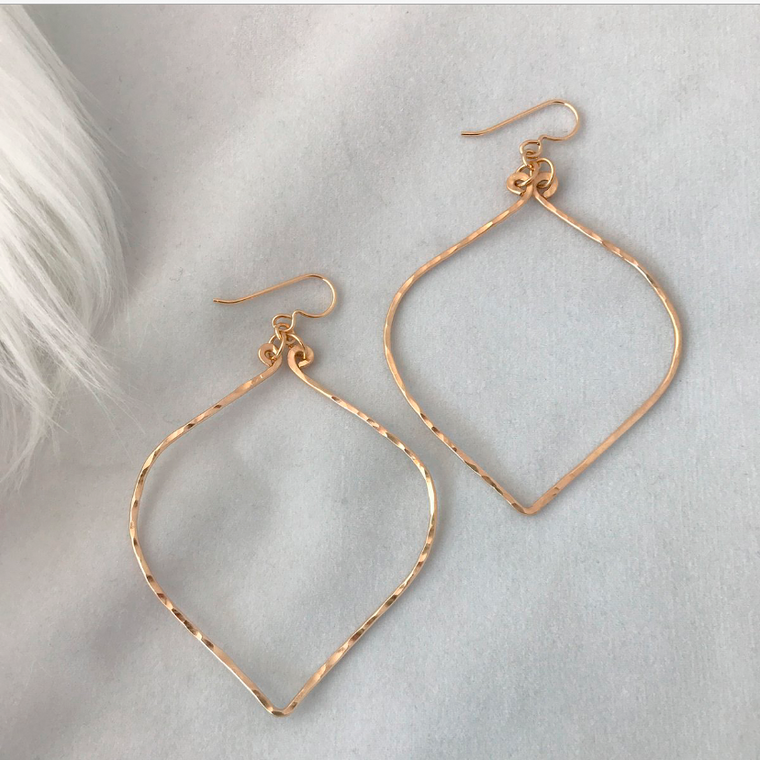 Large Luna Hoops