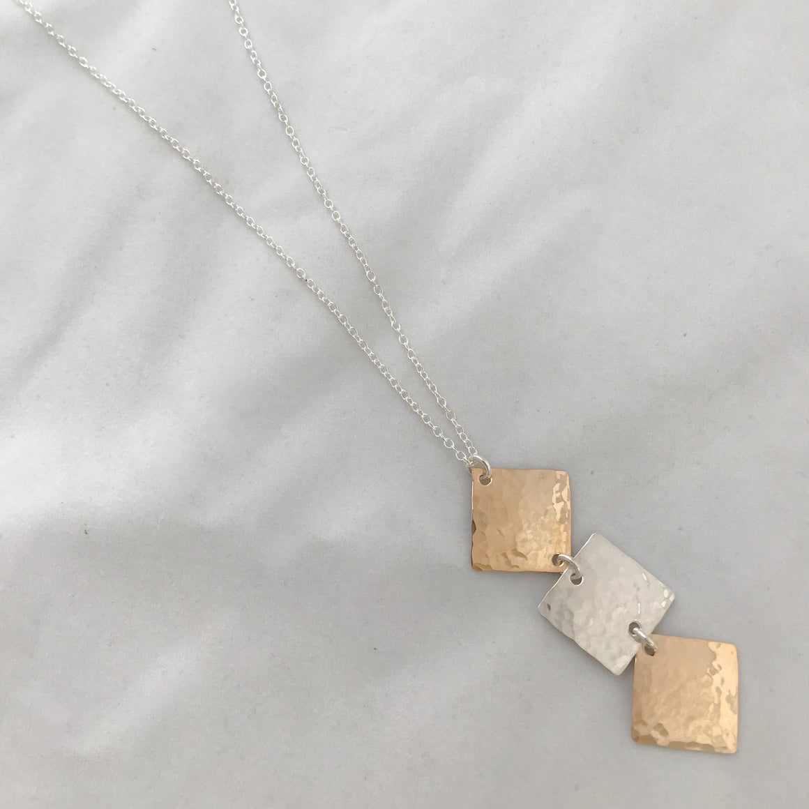 Trio Long Necklace