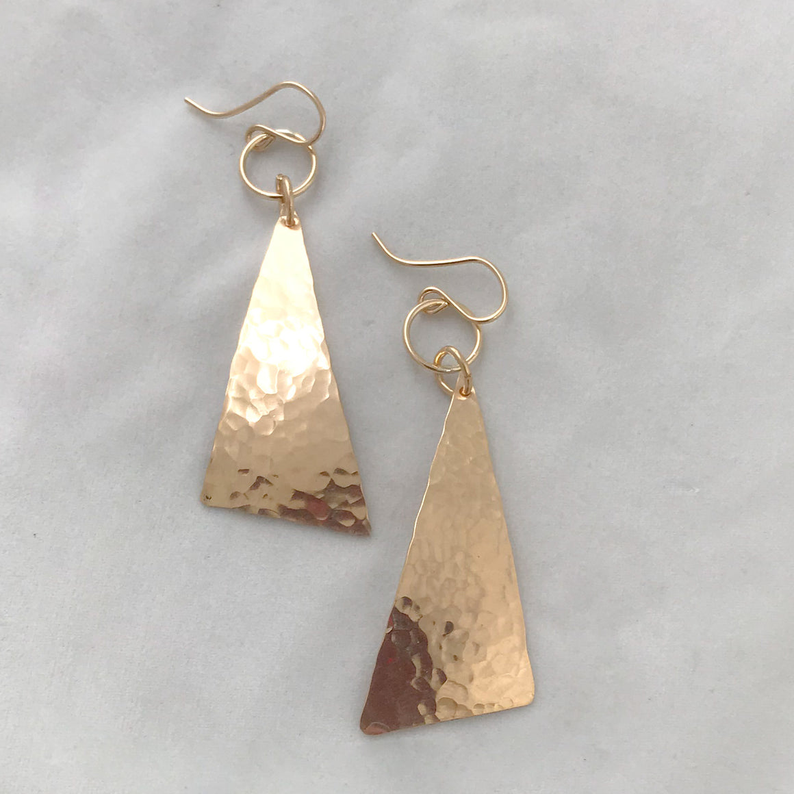Geo Dangler Earrings