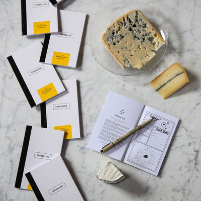 Formaticum Cheese Log Pocket Notebook - Breakfast