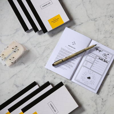 Formaticum Cheese Log Pocket Notebook - Lifestyle