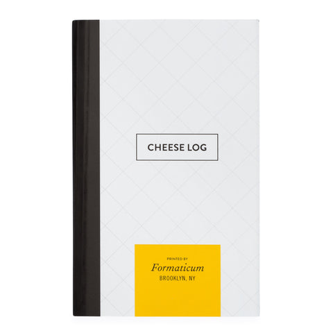 Formaticum Cheese Log Pocket Notebook - Cover