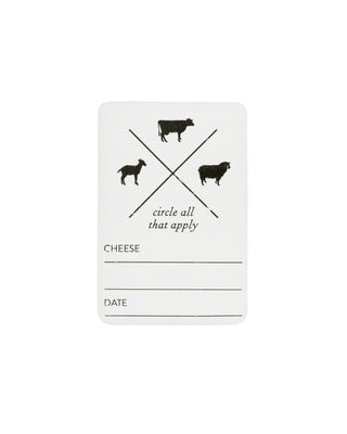 Formaticum Cheese Labels - Small