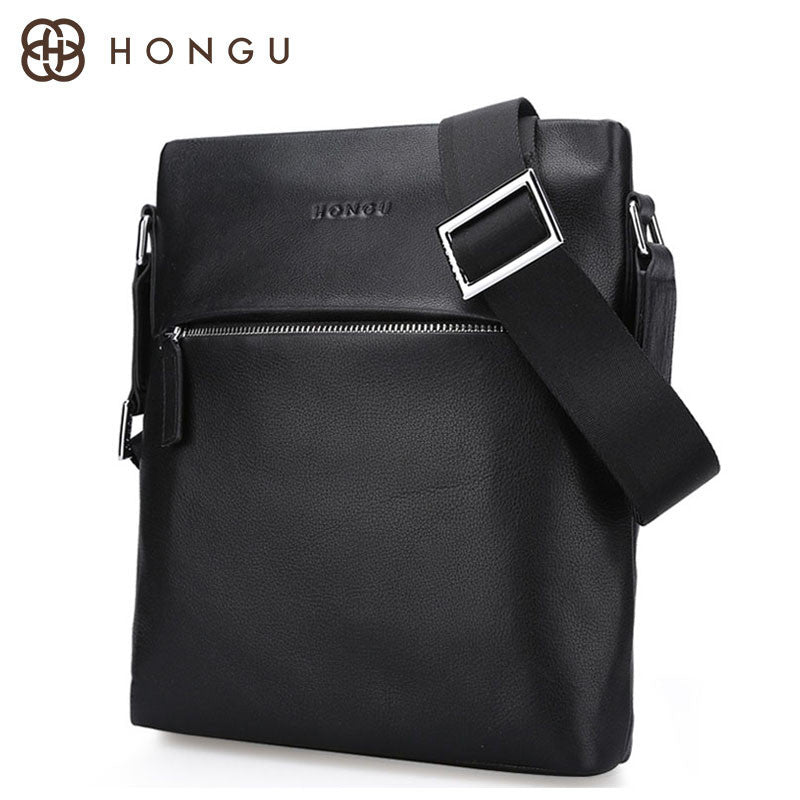 Fashionable Leather Mens Crossbody Bag