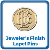 Jeweler's Finish Lapel Pins