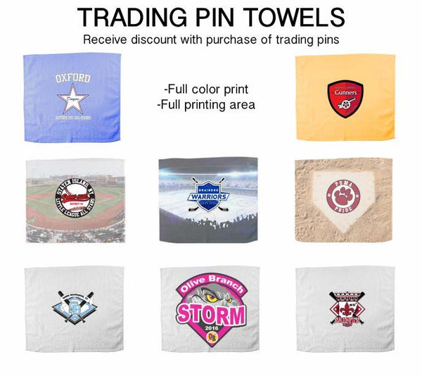 Trading Pin Towels