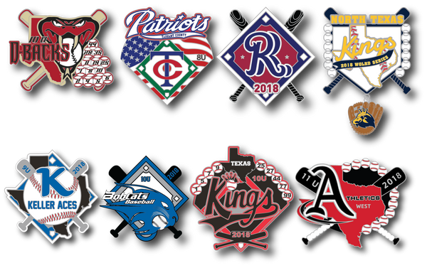 Triple Crown Baseball Pins