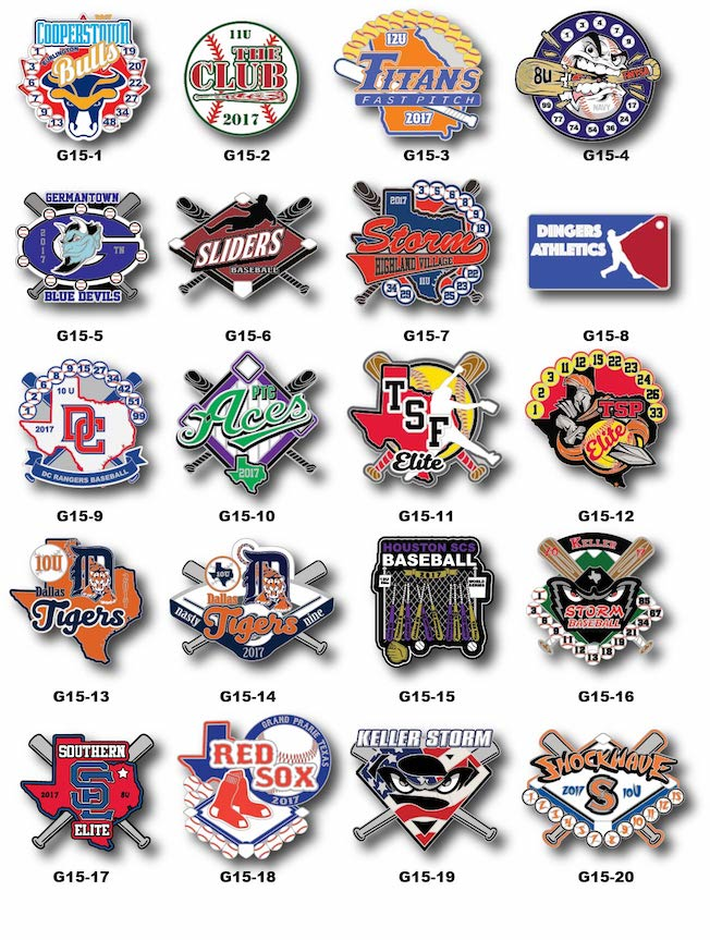 Baseball Gallery #15 - SteelBerry Pins