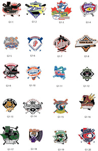 Baseball Gallery #1 - SteelBerry Pins