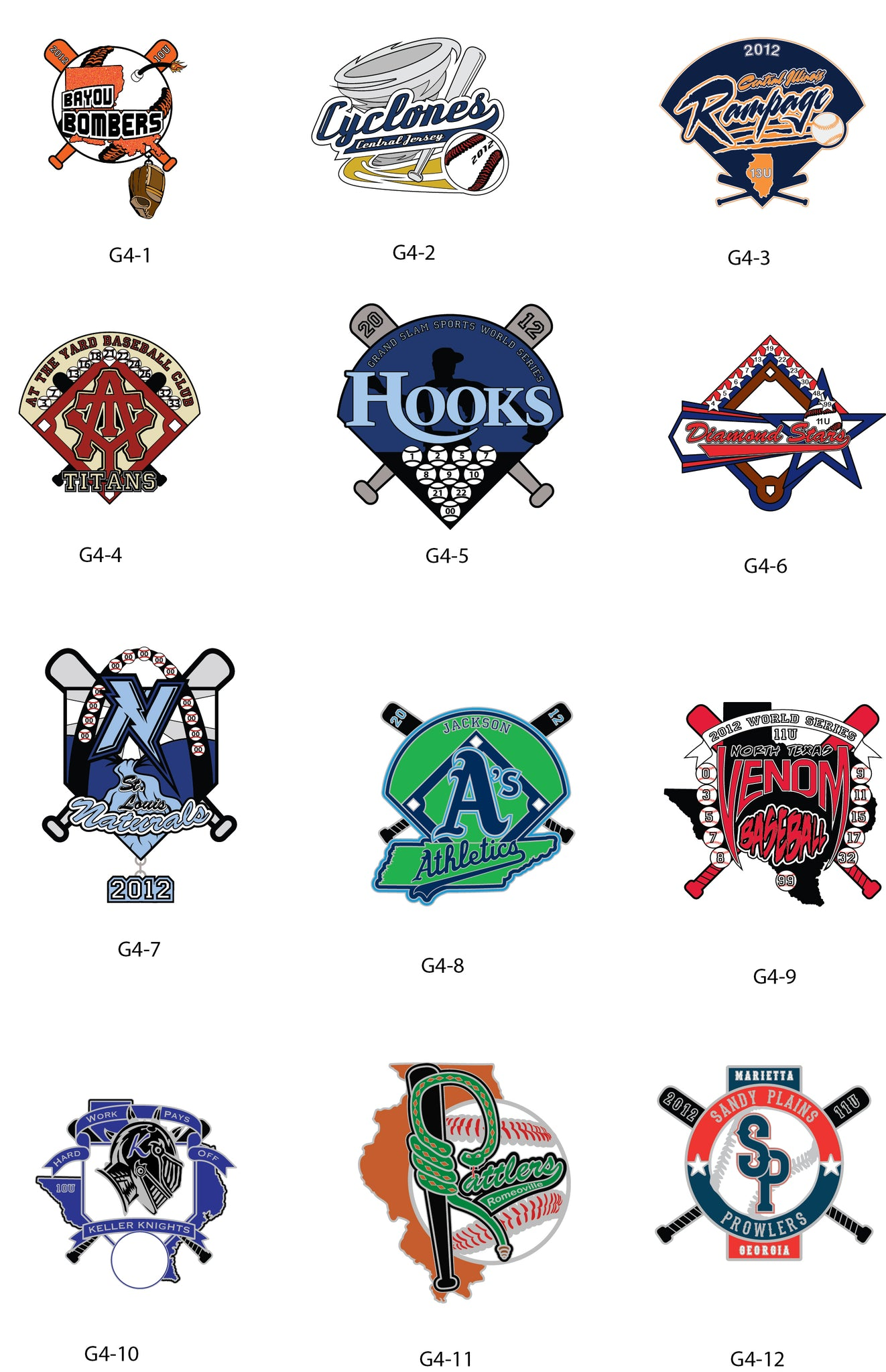Baseball Gallery #4 - SteelBerry Pins