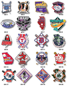 Baseball Gallery #9 - SteelBerry Pins
