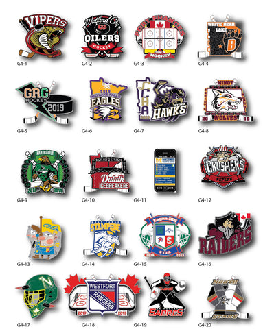 Hockey Trading Pin Gallery #4