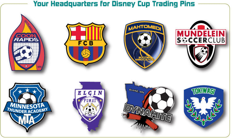 Disney Cup Trading Pins