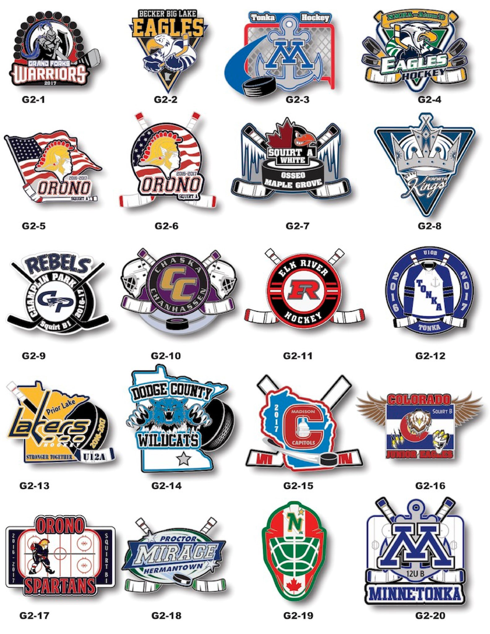Hockey Trading Pin Gallery #2 - SteelBerry Pins