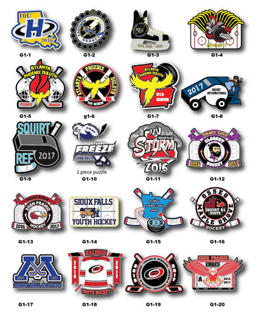 Hockey Trading Pin Gallery #1