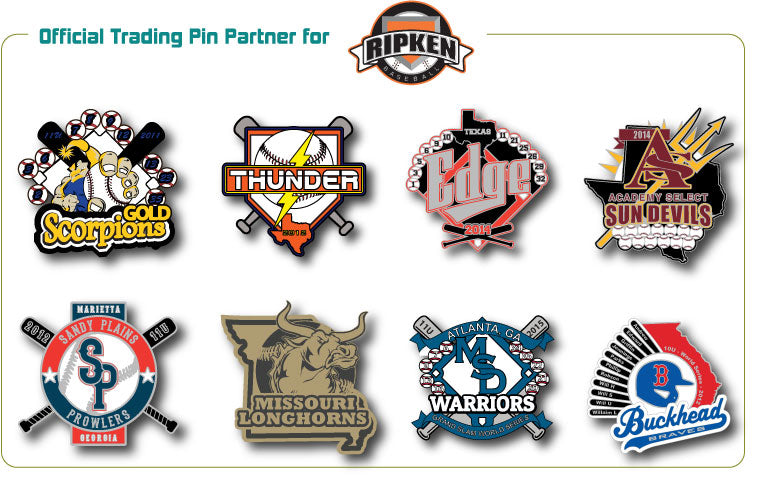 Ripken Baseball Trading Pins - SteelBerry Pins