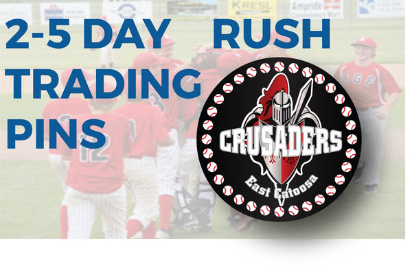 2-5 Day Rush trading Pins - SteelBerry Pins