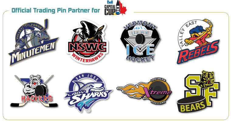 Bell Capital Cup Trading Pins - SteelBerry Pins