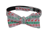 Solid Self-Tie Ugly Sweater Bow Tie