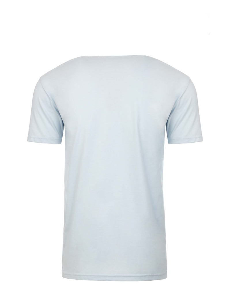 Suede Light Blue V Neck Undershirt