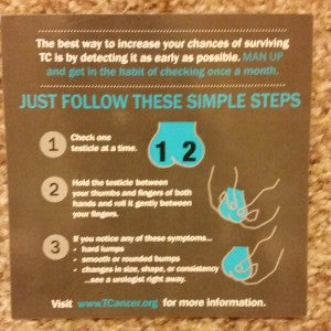 Rock My Bow Tie Testicular Cancer Instructions