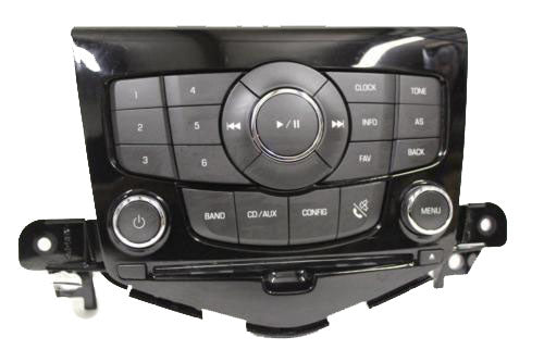11-12 Chevy Cruze Camaro Cd Player Aux In A/C Heater  Climate Control 94563269