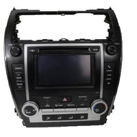 12-13 Toyota Camry Radio Cd Player Display Screen Climate Control 86140-06010
