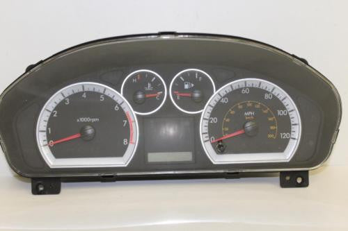 2007 CHEVY AVEO SPEEDOMETER GAUGE CLUSTER MILEAGE UNKNOWN 96652532