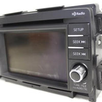 2014-2015 Mazda Cx5 Radio Cd Player Navigation Display Screen Gjs2 66 Dvoa