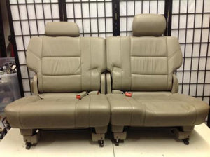 2003-2009 Toyota Sequoia Tan Third Row Seats