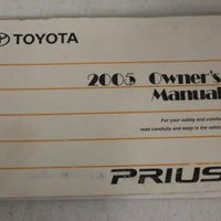 2005 TOYOTA PRIUS PLUS NAVIGATION OWNER'S MANUAL
