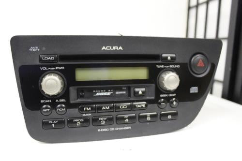 Acura 2002 2004 Rsx Radio Cassette 6 Disc Changer Cd Player 39100-S6M-A600