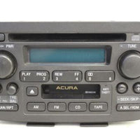 2001-2003 Acura Mdx Radio  Stereo Am/ Fm Tape Cassette Cd Player