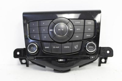 2011-2014 CHEVY CRUZE RADIO AUDIO CONTROL PANEL UNIT 94563269