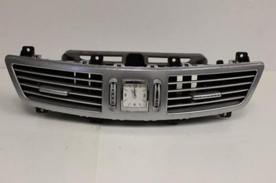 2007-2011 MERCEDES BENZ W221 S550 CENTER DASH AIR VENT W/ CLOCK