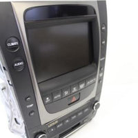 2006 Lexus  Radio 6 Disc Changer Cd Player Display Screen W/ Climate Control