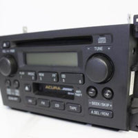 1999-2000 Acura Tl Radio Stereo Cassette Cd Player 39101-S0K-A110-M1