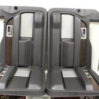 2013-2014 Ford Driver & Passenger Side Front & Rear Door Panel
