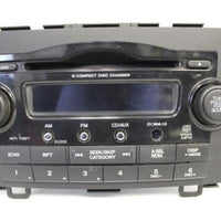 2007-2011 Honda Cr-V Radio Stereo 6 Disc Changer Cd Player 39100-Swa-A203