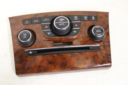 2011-2013 Chrysler 300 A/C Heater Climate Control Radio Switch Wood Grain