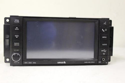 07 08 09 10 11 Chrysler Dodge Jeep My Gig Dvd Cd Player Radio REN P05064244AK