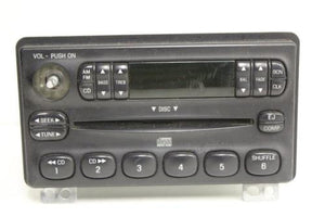 2002-2004 Ford Explorer Mountaineer Radio Stereo Am/ Fm  Cd Player