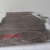 2007-2012 GMC YUKON PREMIUM FRONT ALL WEATHER CASHMERE FLOOR MATS W/ LOGO